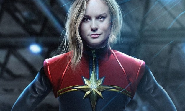 First Look At Brie Larson as CAPTAIN MARVEL Inside!