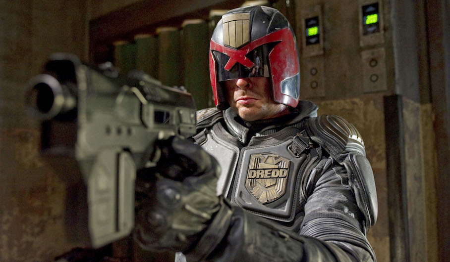 JUDGE DREDD Artwork Teases TV Show