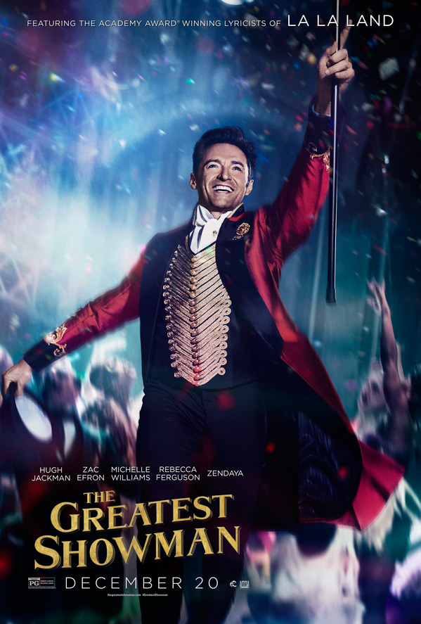 Final Poster for The Greatest Showman