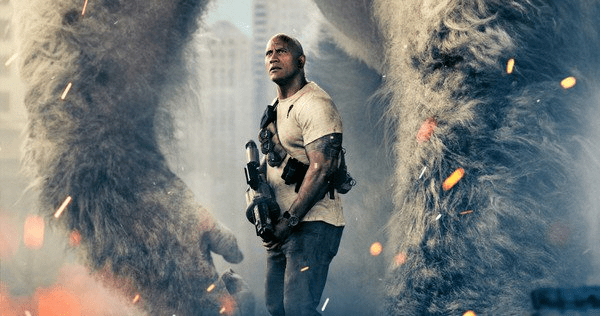 Check Out the First Trailer for The Rock's Upcoming RAMPAGE Film!