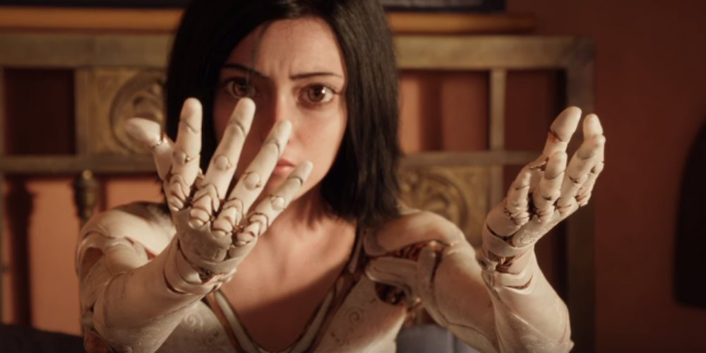 ALITA: BATTLE ANGEL Trailer Released