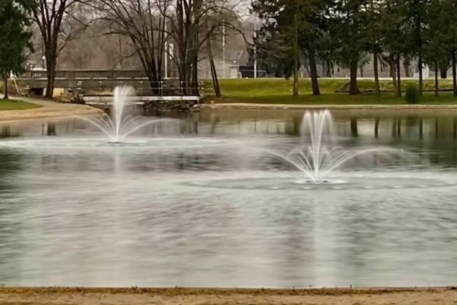 kiwanis ecoseries floating fountains