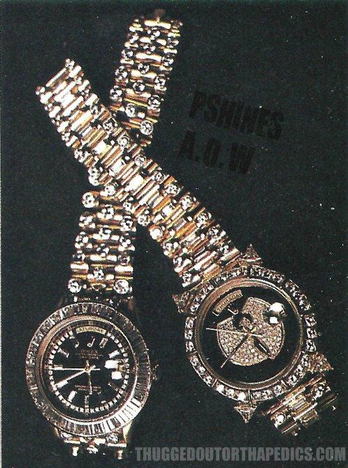 Raekwon Wu Tang Rolex Watch Amp Gold Tarantula Piece Splash