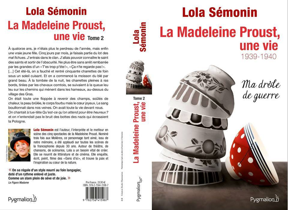 couv tome 2 madeleine proust