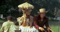 Blanche (Susan George) und Hammond (Perry King)