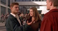 Johnny Rico (Casper Van Dien) und Carmen Ibanez (Denise Richards)
