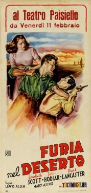Italienisches Filmplakat