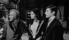 Fürst Vajda (Ivo Garrani), Katia (Barbara Steele) und Konstantin (Enrico Olivieri)