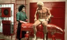 Der Doktor und sein Werk: Rocky Horror (Peter Hinwood, rechts)