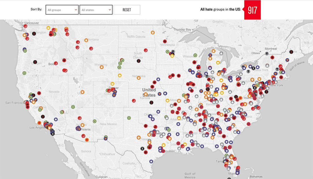SPLC Hate Map