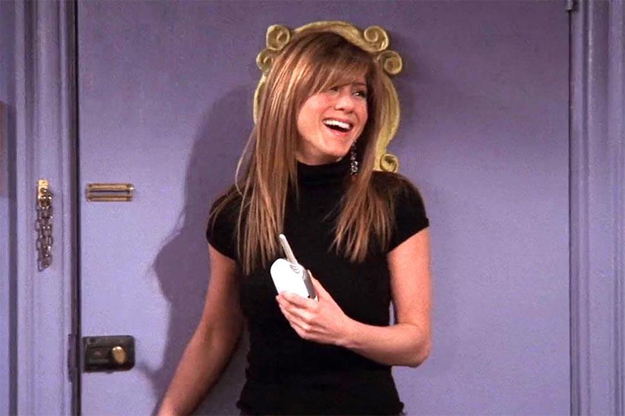Rachel green bangs