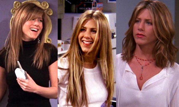 The Five Rachel Hairstyles of Rachel Green (Jennifer Aniston) Ranked