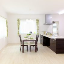 Subtle Apartment Kitchen and Dining