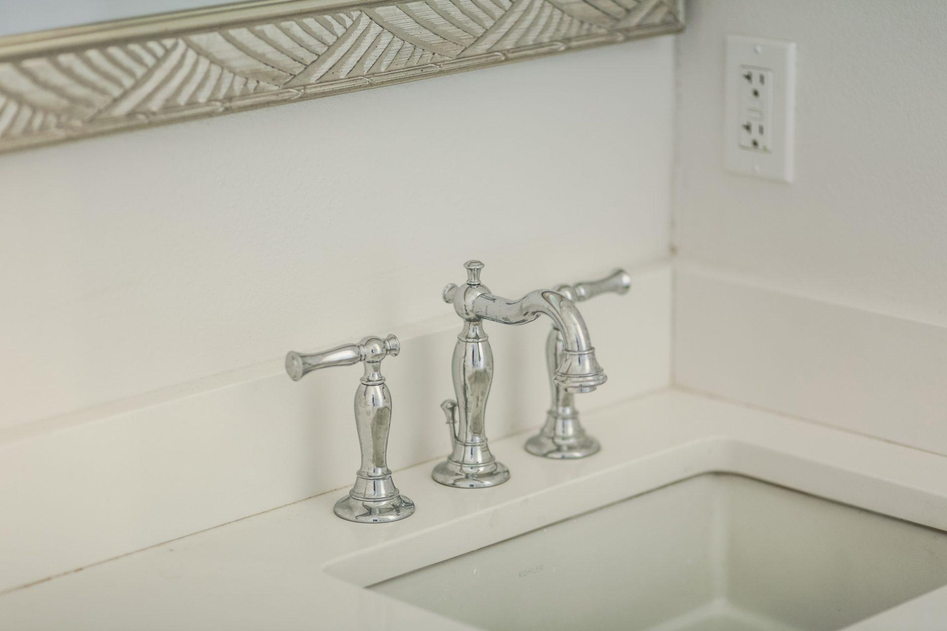 Fern Circle   Master Bath Faucet Detail