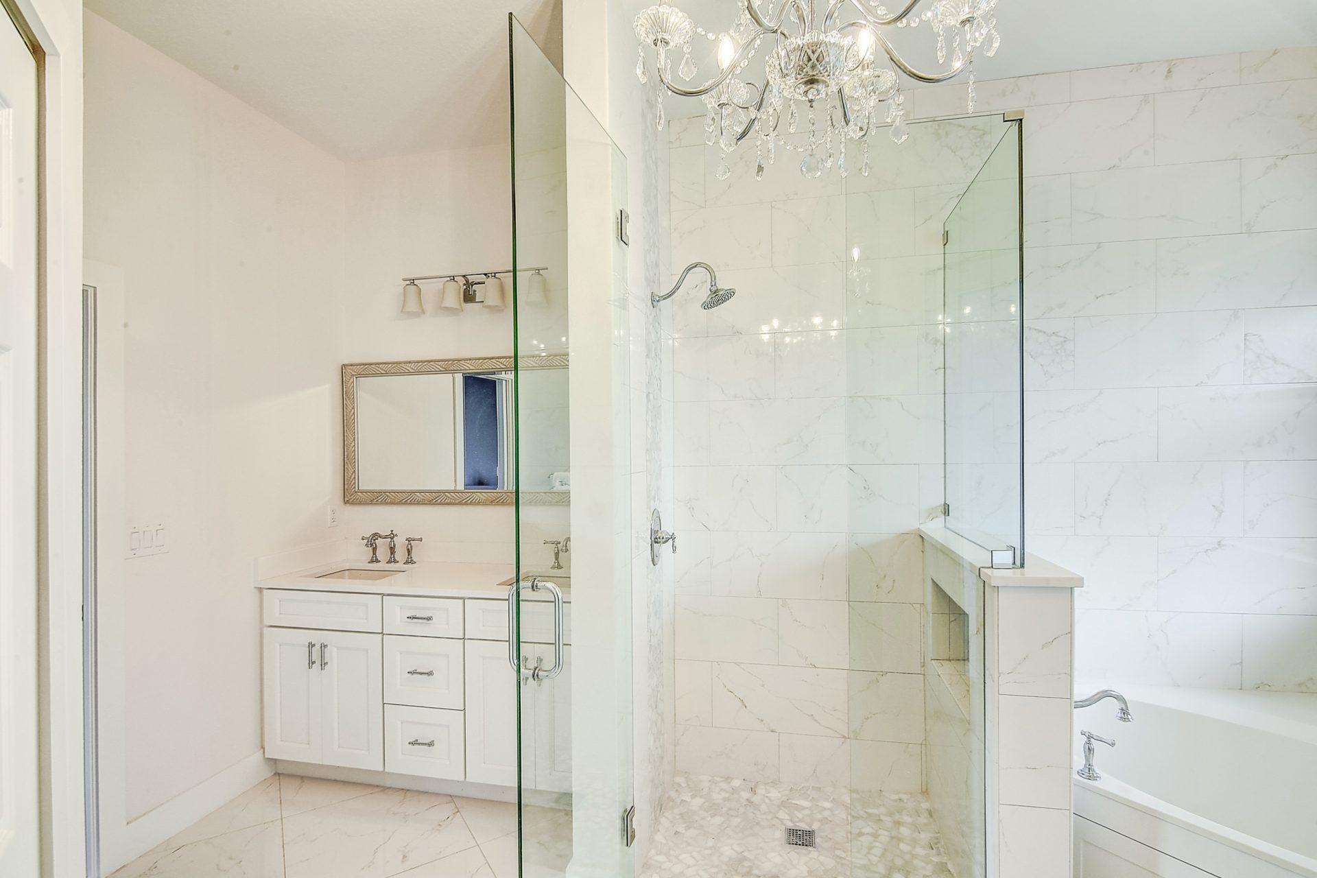 Fern Circle   Master Bathroom Shower