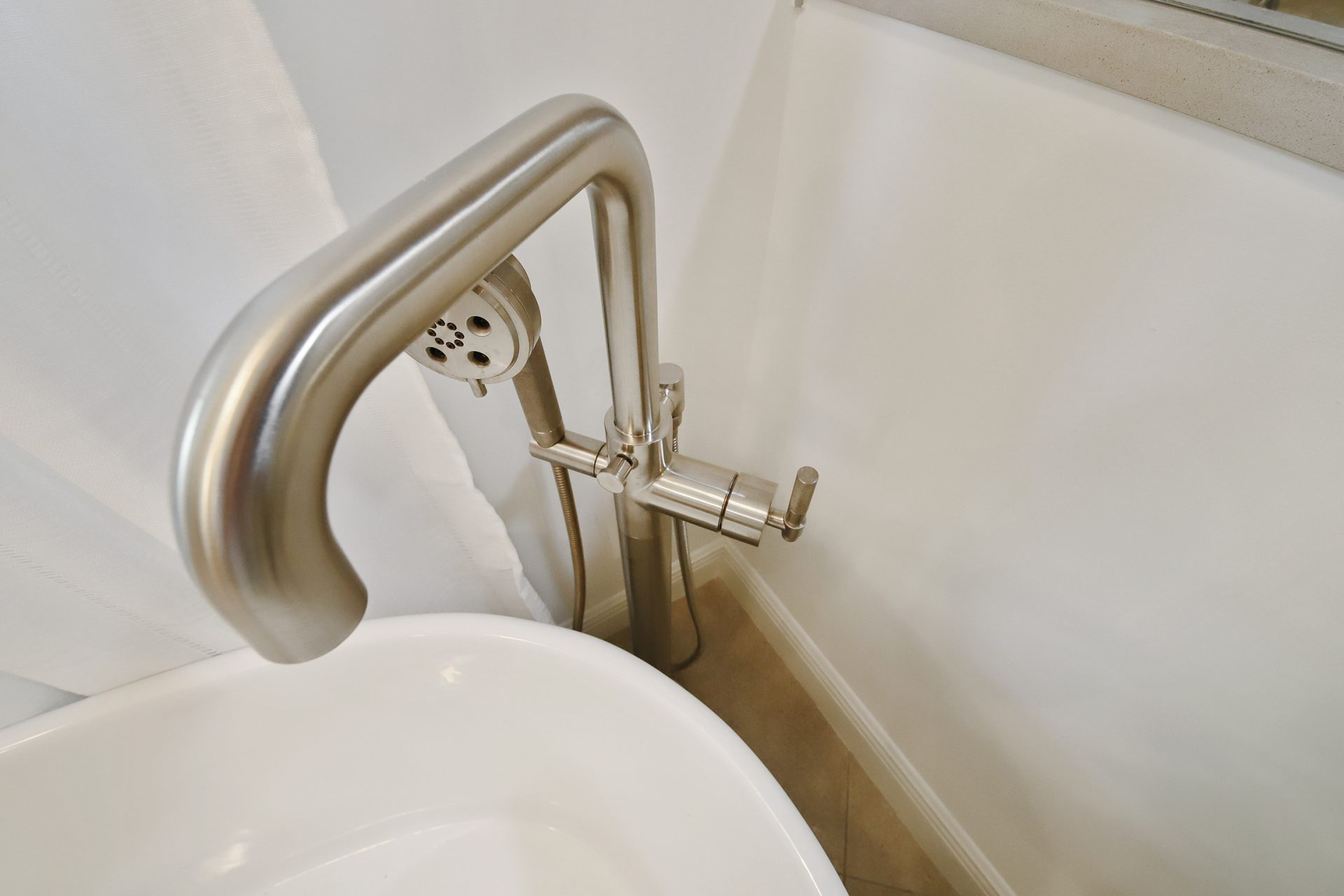 Master Bathroom Sanctuary | Tub Faucet