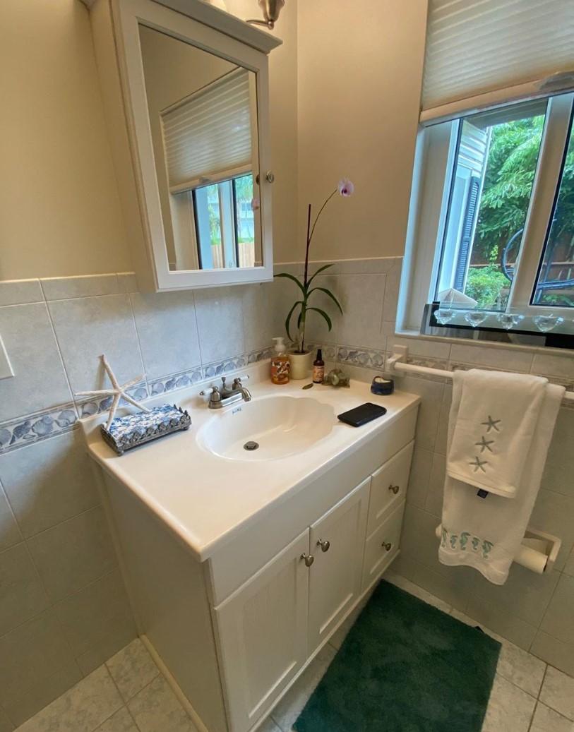 Shore Village Terrace | Guest Bathroom | Before