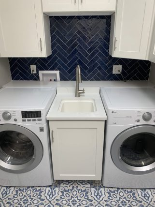 Modern Coastal Sanctuary - Laundry Room