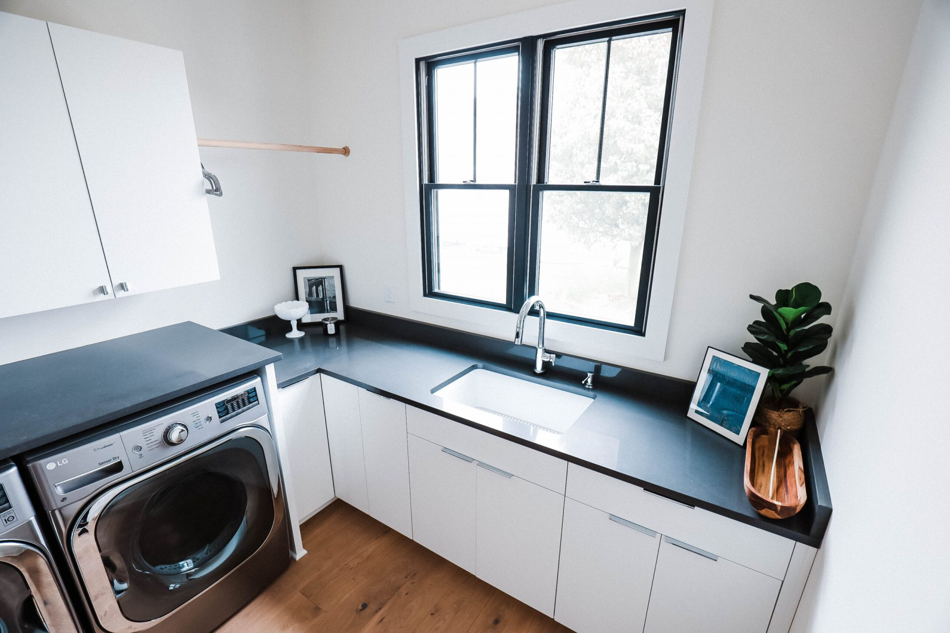 Indiana Mid Century | Laundry Room