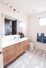Indiana Mid Century   Guest Bathroom