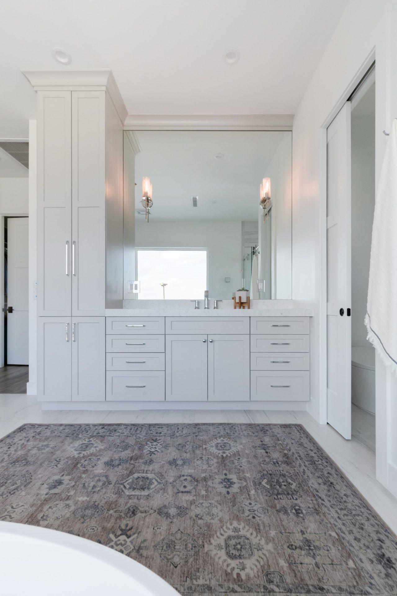 Peet's Perch | Master Bathroom His Vanity