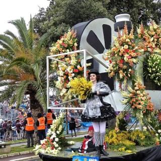 """Bataille de Fleurs"", Carnaval, Nice, France…."