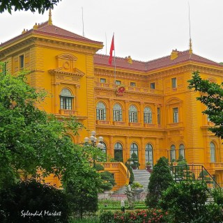 Red and yellow color study, Hanoi Vietnam…