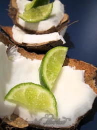 Put de lime on de coconut, and de papaya…