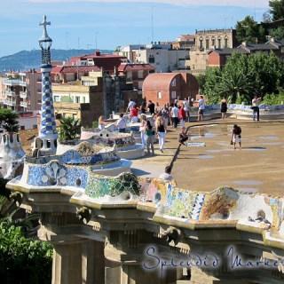 Parc Guell, Barcelona… I'm so ga~ga for Gaudi, …