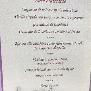 italian wedding…