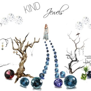 Fantasy forest filled with ethically procured jewels…
