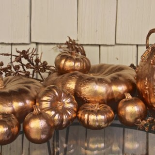 Gilded Gourds…