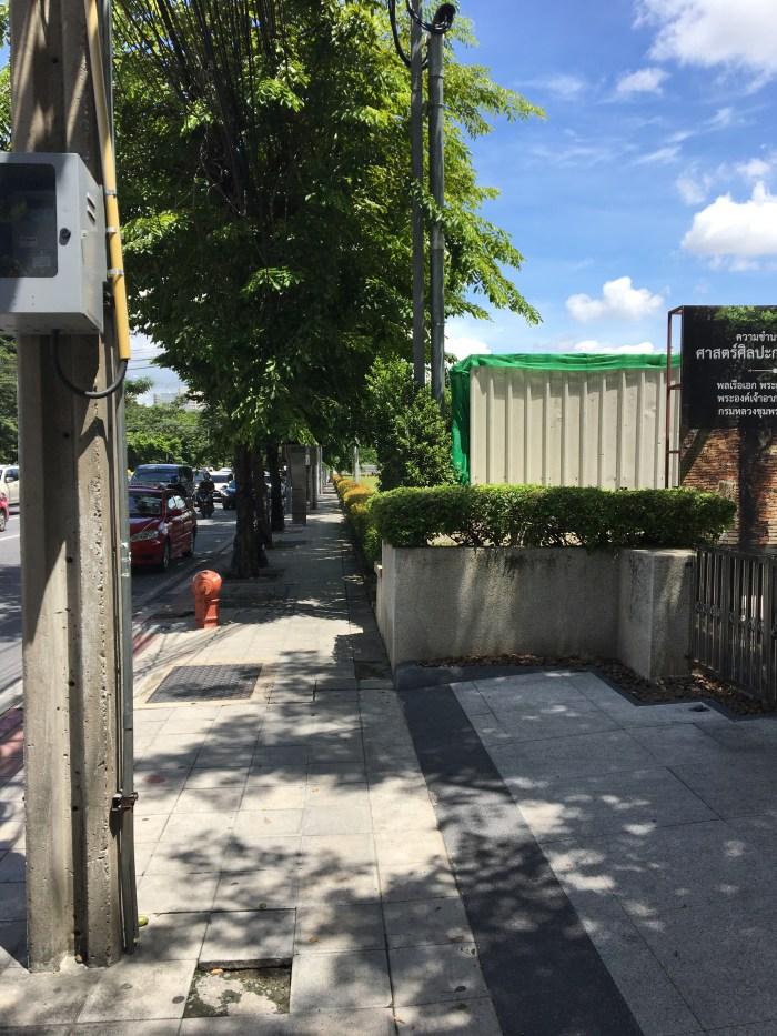 タイにある日本大使館の行き方