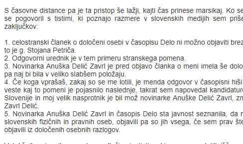 Simič o poslih Petričevega Kolektorja v Bosni