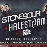 Halestorm + Stone Sour @ EMU Convocation Center, Ypsilanti, MI