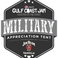 Pepsi Gulf Coast Jam Military Appreciation Tent Returns