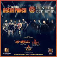 Five Finger Death Punch Delivers a Knockout Performance