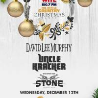 David Lee Murphy + Uncle Kracker + Stone @ WITL Christmas Party