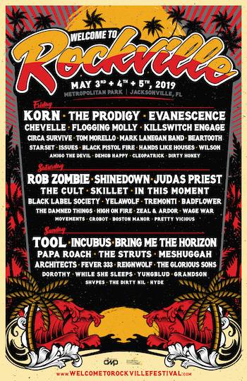 Welcome to Rockville 2019 Lineup Announced!