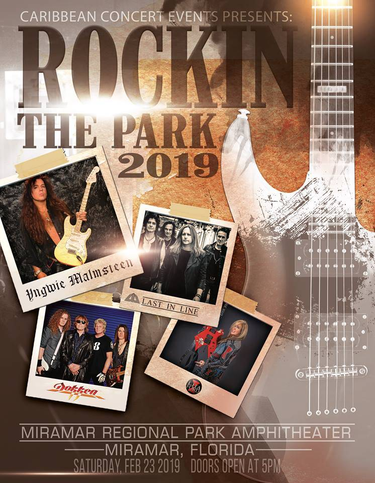 Carribean Concerts Presents: Rockin' The Park 2019