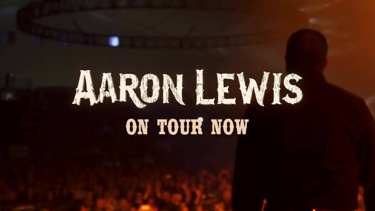Aaron Lewis and Ben Danaher at the Tampa Theatre