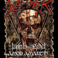 Slayer + Lamb of God + Amon Amerth + Cannibal Corpse @ Midflorida Credit Union Amphitheatre, Tampa, FL