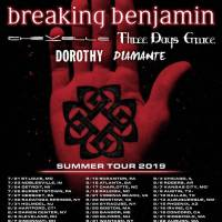 Breaking Benjamin, Chevelle, and more in Charlotte, NC 08/17/2019