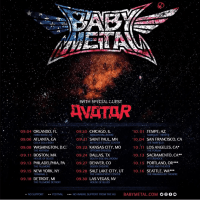 Babymetal's First World Tour Coming to the US