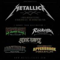 Metallica, 5 North American Festivals,10 Headlining Sets, One Unforgettable Year