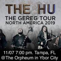 The Hu Come Bring Their Debut Tour To The Orpheum In Tampa Florida.