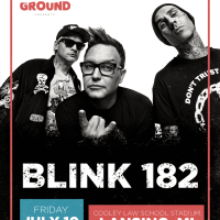 Blink 182 is Coming to Lansing!