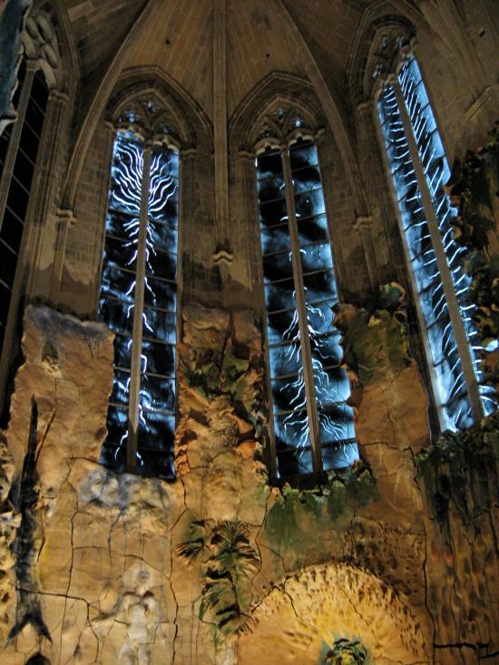 Holy sacrament windows