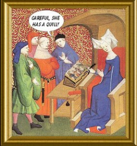 Women in Comics, Medieval Europe