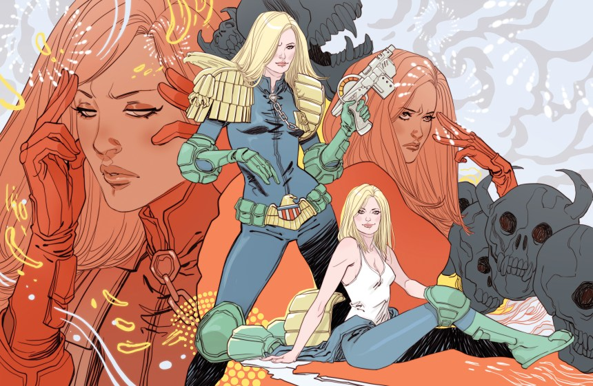 Judge Anderson poster drawn by Marguerite Sauvage